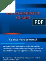 Managementul Clasei Curs