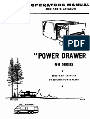 Onan Generator Manual NH series | Carburetor | Throttle