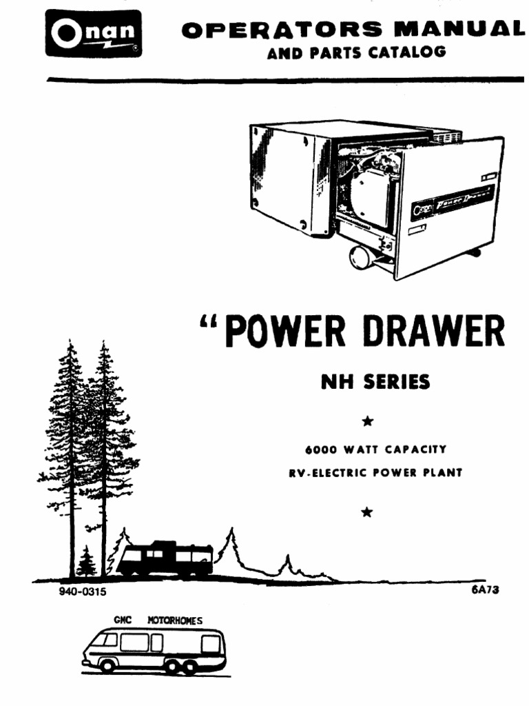Onan Generator Manual NH series   Carburetor   Throttle