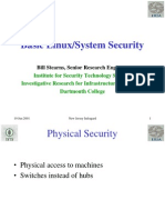 Basic Linux Security