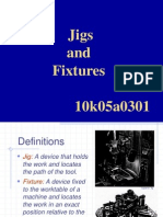 design of jigs and fixtures.