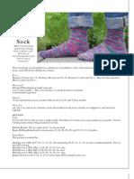 Basic Ribbed Sock 20110529