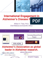 International Alzheimers Research