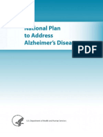 Alzheimers National Plan