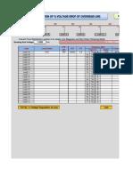 (6)Calculate % Voltage Regulation of Line(1.7.12).O.K