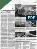 67 espacios de interés geomorfológico en Galicia