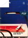 Philips Lighting 1987 Lamp Specification Guide