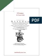 IL FRONIMO di Vincenzo Galilei