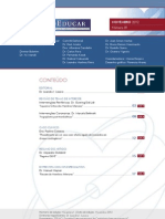 Boletim 81, Novembro 2012 - Programa Educativo PROEDUCAR SOLACI