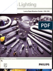 Philips Lighting 1988 Lamp Specification Guide