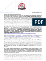 Lettera aperta al Sindaco Gianni Di Pangrazio