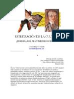 ESTETIZACIÓN DE LA CULTURA