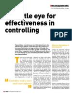Effectiveness in Controlling by CFO Partners