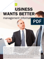 Quality of Managment Information by CFO Partners