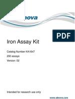 Assay Kit Ferro