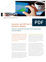 Accenture SAP Join Forces Enrich Enterprise Mobility