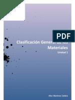 ClasificaciónGeneraldelosMateriales