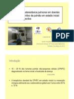 Radioterapia estereotáxica pulmonar em doentes com tumor primitivo de pulmão em estadio inicial análise retrospectiva