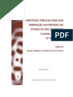 Diagnostico Setor Mineral Estado Rio de Janeiro