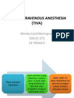 Total Intravenous Anesthesia (Tiva)
