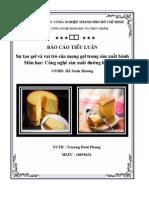 35 - Sự tạo gel và vai trò của mạng gel trong sản xuất bánh - SV Trương Hoài Phong.
