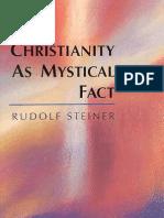 Steiner, Rudolf - Christianity as Mystical Fact