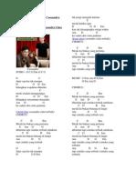 Chord Dan Lirik Lagu Cassandra Cinta Terbaik