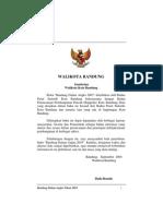 Kota Bandung Dalam Angka 2003