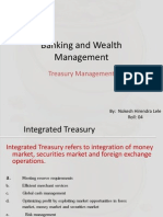 Banking and Wealth Management