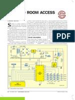 Secured Room Access ATMEGA 8535