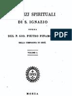 """Pinamonti, SJ """"Esercizi Spirituali Di S Ignazio"""", Monza 1836"""