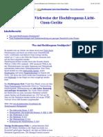 Hochfrequenz-Strahlapparate (Violet Ray-Geräte)
