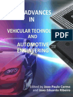 New Advances Vehicular Technology Automotive Engineering i to 12