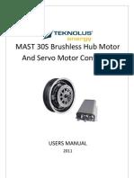 MAST30S Hub Motor User Manual_v3_en