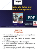 Introduction to Sales and Distribution Management