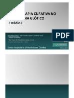 RADIOTERAPIA CURATIVA NO CARCINOMA GLÓTICO