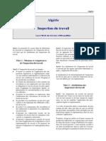 Algerie - Inspection Du Travail
