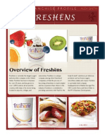 Franchise Profile- Freshëns