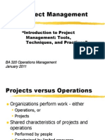 Intro to Project Management