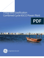 Integrated Gasification Combined Cycle (IGCC) Power Plant