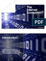 The Internet Ecosystem? - What should I do and where is it heading ... (iBook version)