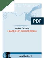 Palladio i Quattro Libri Dell Architectura