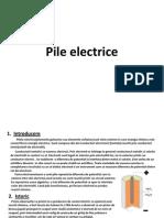 Pile Electrice
