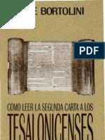 bortolini, jose - como leer la carta 2 a los tesalonicenses.pdf