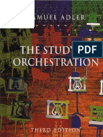 The Study of Orchestration, 3rd Edition by Samuel Adler