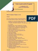 M., The Apostle and the Evangelist Vols.8-10 (610p)