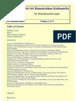 Mahendranath Gupta - Sri Sri Ramakrishna Kathamrita Volume I (277p)