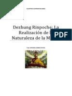Dezhung Rinpoche La Realización de la Naturaleza de la Mente.