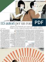 Storia e Prospettive Della Scrittura Collettiva in Italia - La Lettura 10.03.2013