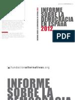 Informe sobre la democracia en España